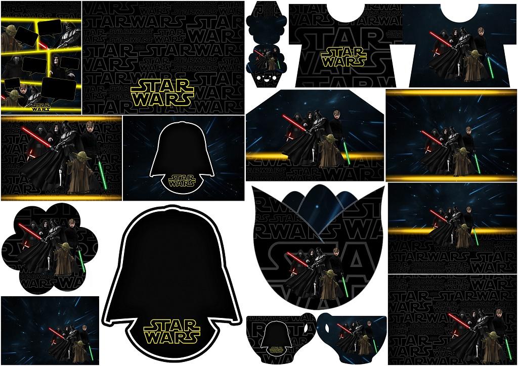 Star Wars Free Printable Invitations - Oh My Fiesta! for Geeks