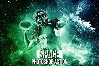 Utilisez Space Photoshop Action pour un effet cosmique sur vos photos