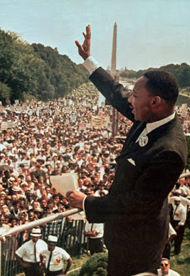 Martin Luther King is a civil rights hero in the United States