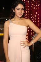 Sayesha Spicy Half Shoulder Cream Gown at Zee Telugu Apsara Awards 2017 16.JPG