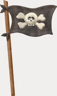 Bandera pirata.