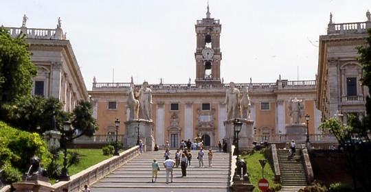 Museus-Capitolinos-em-Roma-Itália