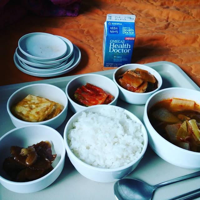 Comida de hospital surcoreano