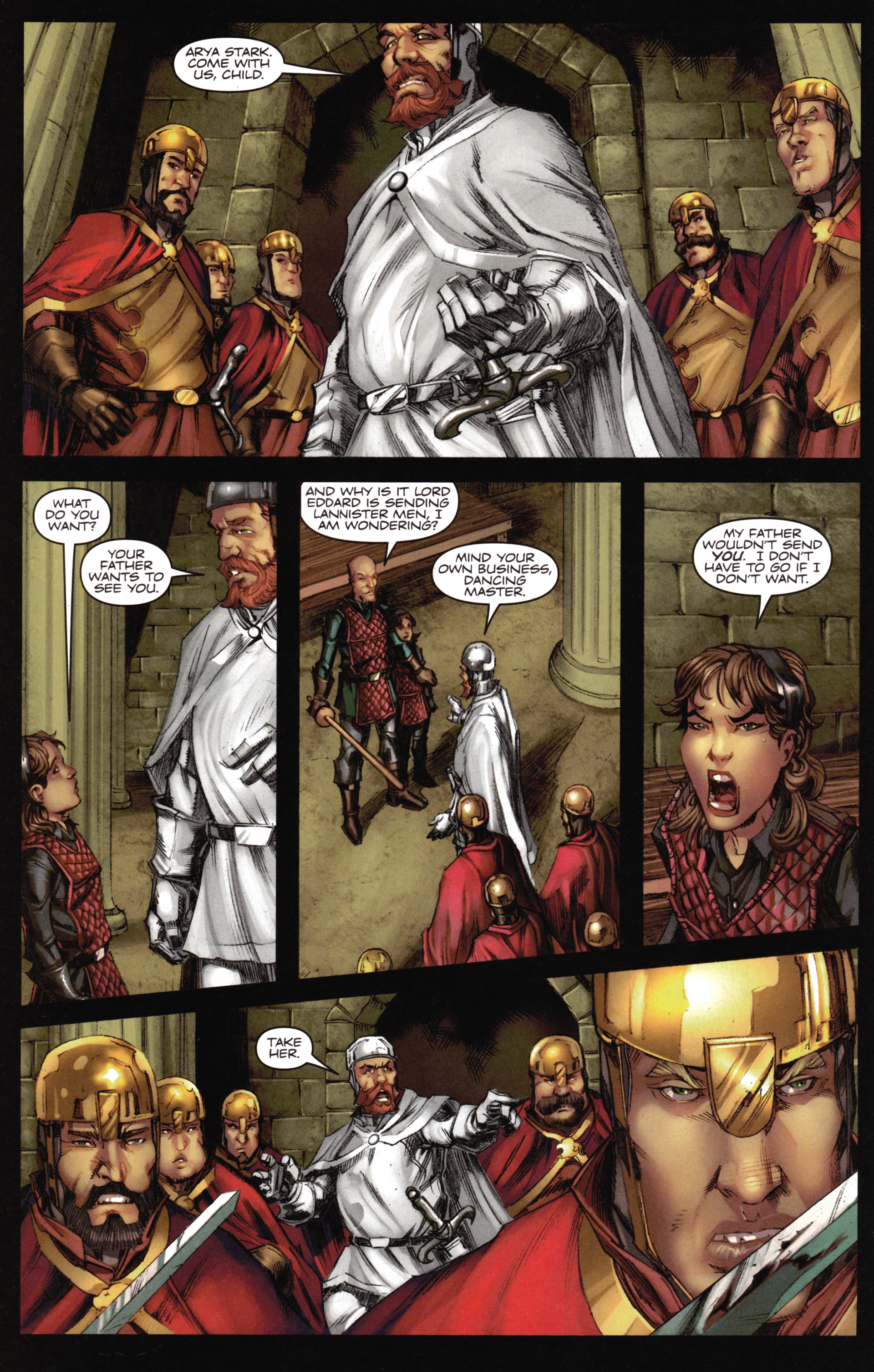 Read online A Game Of Thrones comic -  Issue #16 - 16