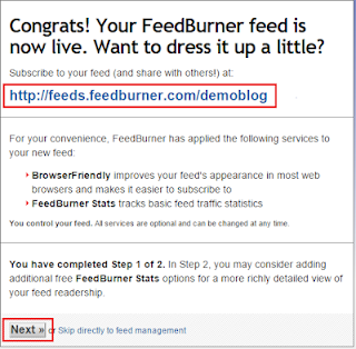 FeedBurner ki Feed ko Kaise Banate Hai