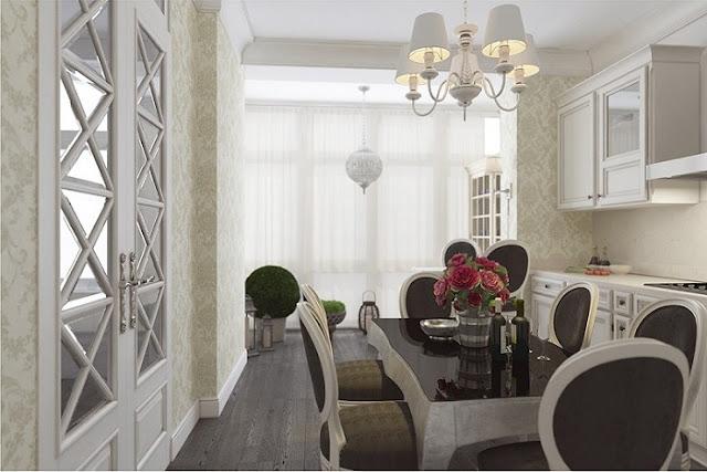 Mẫu thiết kế nội thất chung cư 115m2 đẹp hoàn hảo đến từng chi tiết - H2