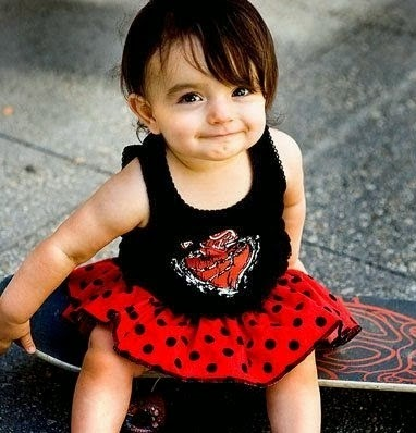 Cute Lovely Baby Girls Images For Facebook Profile Picture