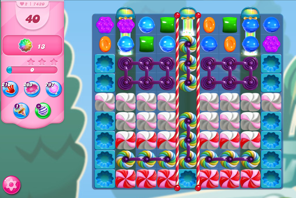 Candy Crush Saga level 7420