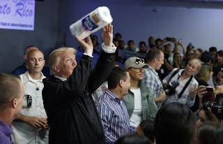 Trump sees 'miracle' Puerto Rico survival, ignores critics