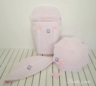 funda rosa para silla Bebecar IpOp XL