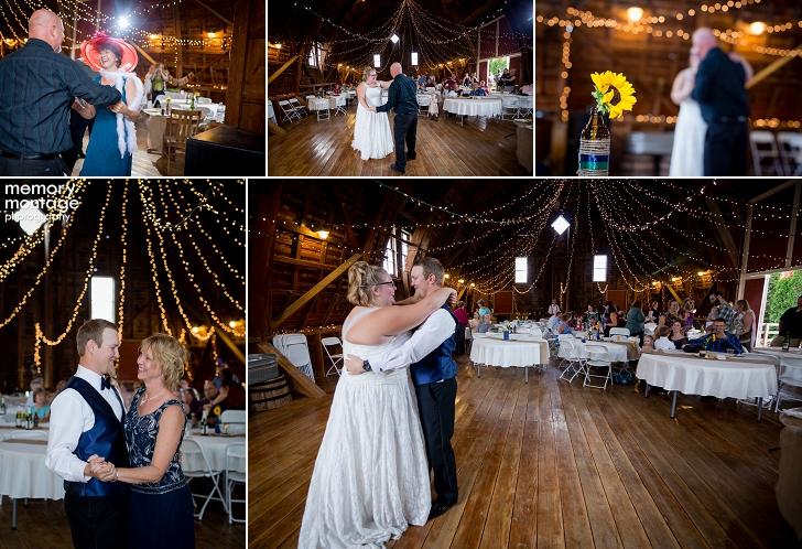 Winn Homestead Wedding Weston Oregon Barn