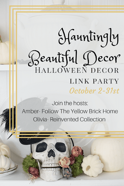 Hauntingly Beautiful Decor Link Party