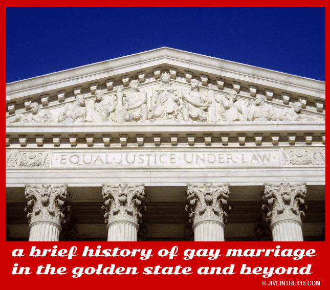 The US Supreme Court Building and the inscription equal justice under the law.