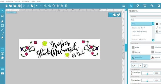 Screenshot Mint Studio: fertiges Stempeldesign
