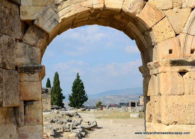 Gate of Hierapolis Pamukkale
