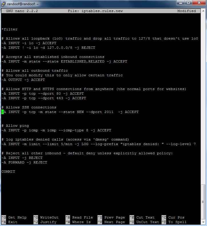 Unmanaged VPS: ipTables Tutorial | ipTables Ubuntu *Updated*