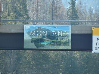 montana, road trip