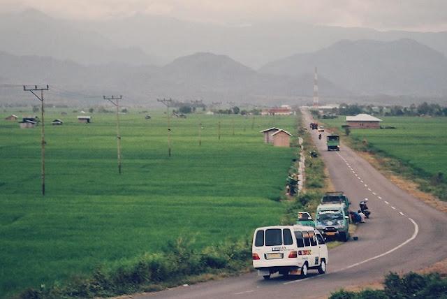 Hamparan Persawahan Lembor, Manggarai Barat, Flores