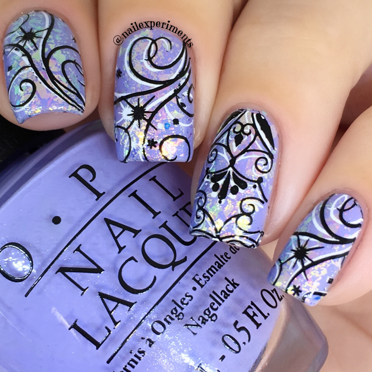 Nail Experiments Winter Whimsical Nail Art Tutorial Step By Step