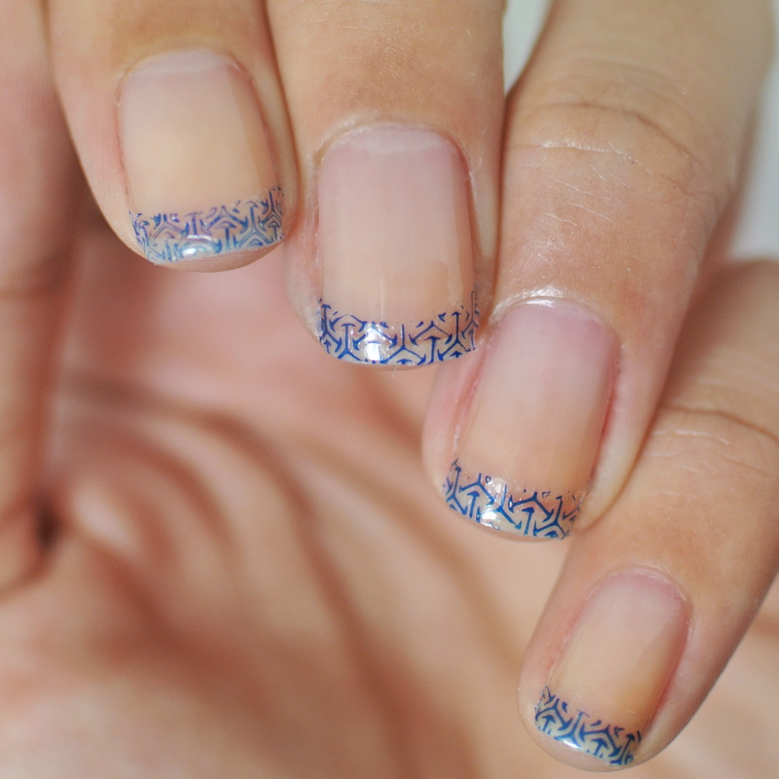 french tip nail designs for fall