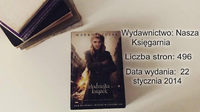"""""""Złodziejka książek"""" Markus Zusak"""