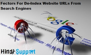 Reasons for Deindex Website URLs