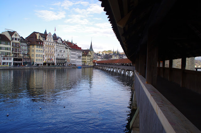 Chapel Bridge Lucerne Switzerland