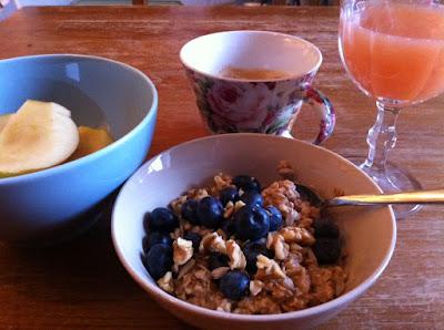 clean eating am morgen fr hst ck den weg geniessen. Black Bedroom Furniture Sets. Home Design Ideas