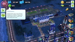 Evaluating Success with Key Indicators in SimCity Buildit - Happiness Rate