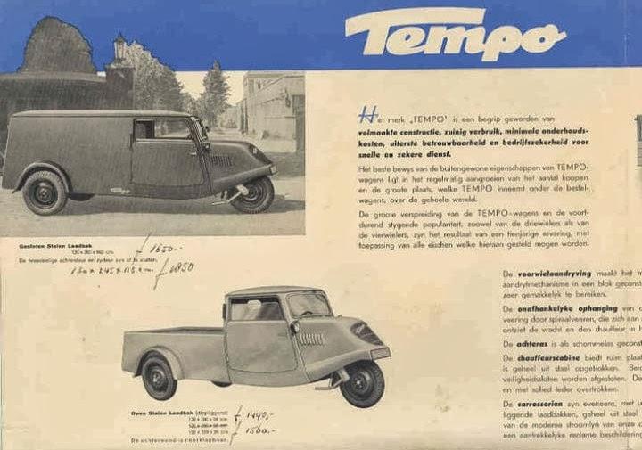 Project Tempo 1939 Tempo Brochure German