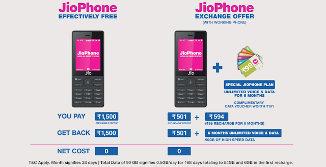 jio phone recharge plan