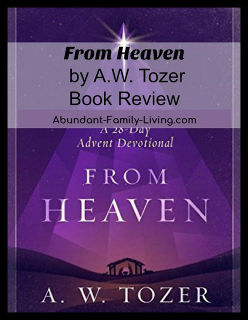 From Heaven by A.W. Tozer