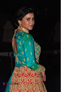 Actress Mannara Chopra Pictures at The Wedding Vows Fashion Show  0055.JPG
