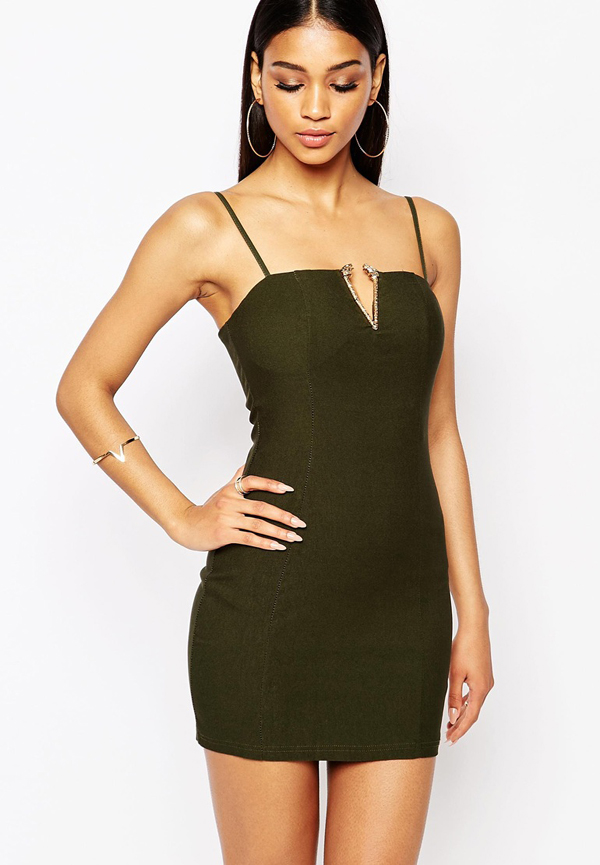 http://www.asos.com/Rare/Rare-London-V-Bar-Bodycon-Dress-With-Tiger-Head-Detail/Prod/pgeproduct.aspx?iid=5359942&cid=8799&sh=0&pge=8&pgesize=204&sort=1&clr=Olive+green&totalstyles=3442&gridsize=3