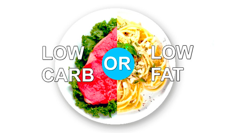 low calorie diet versus low carbohydrate The right answer is the fat, according to a recent study in the annals of internal  medicine a low-carbohydrate diet may actually be better for.