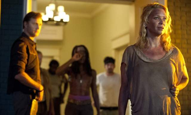 The Walking Dead 3x03 - Michonne, Andrea y el Gobernador