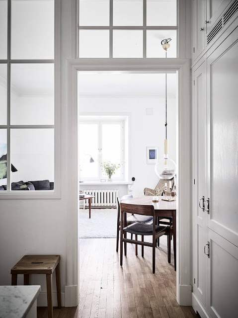 Decoración de una vivienda contemporánea reformada