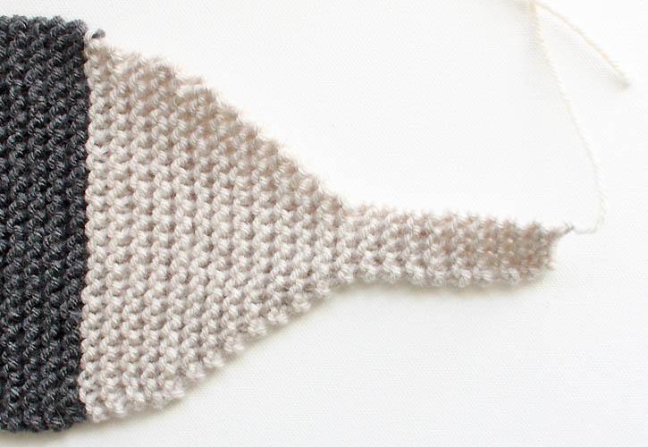 Fox Scarf Knitting Pattern- women & child sizes - Gina Michele