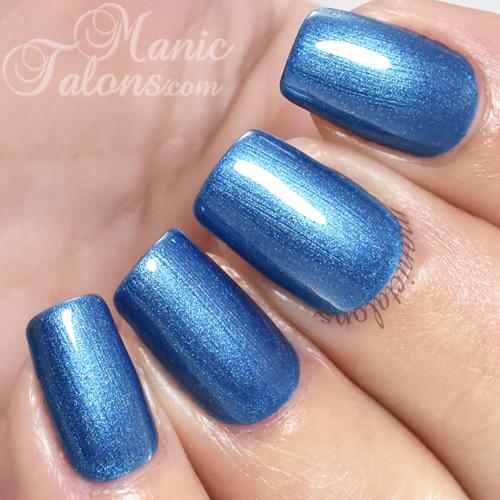 Madam Glam Gel True Blue Game Swatch