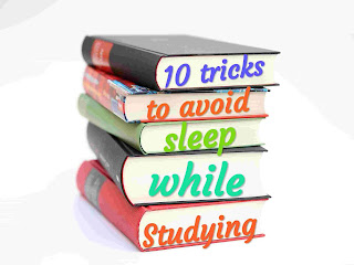 Avoid sleep while studying