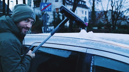 Mit KUNGS bekommt man schnell klare Sicht im Winter | Finnische Eiskratzer für extreme Wetterverhältnisse im Closer Look