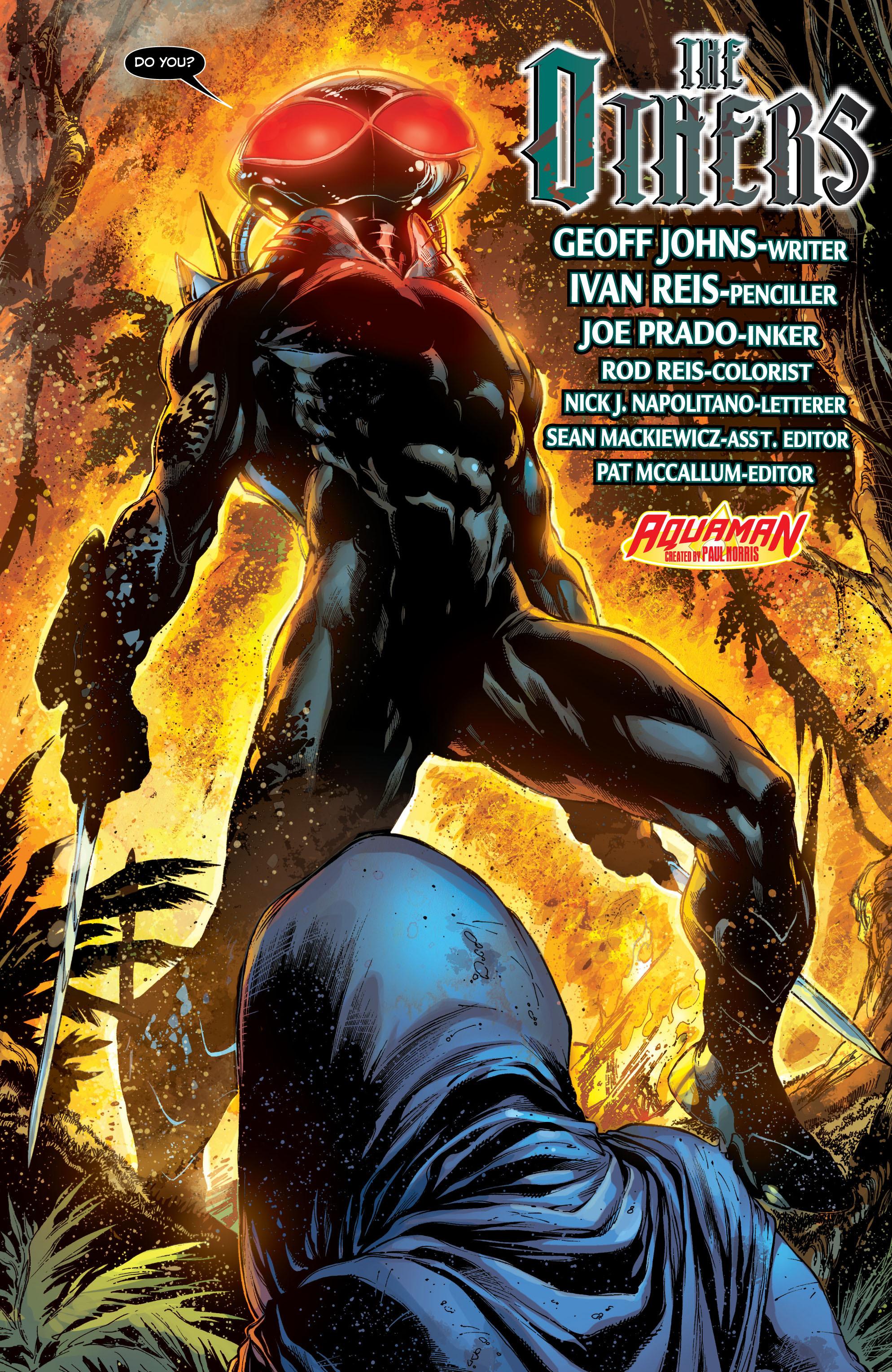 Read online Aquaman (2011) comic -  Issue #7 - 6