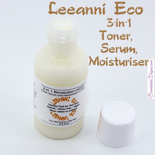 Leeanni Eco 3-IN-1 Toner, Serum and Moisturiser