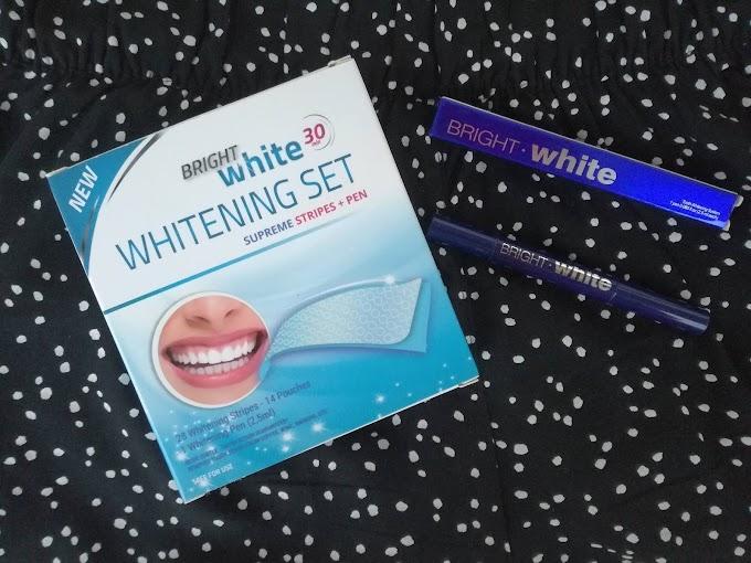 Moje efekty po wybielaniu zębów paskami Bright White