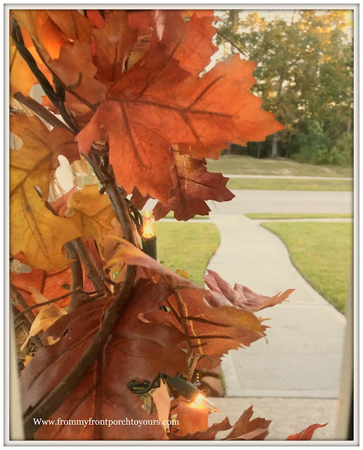 Fall Leaf Garland-Grapevine Garland-From My Front Porch To Yours
