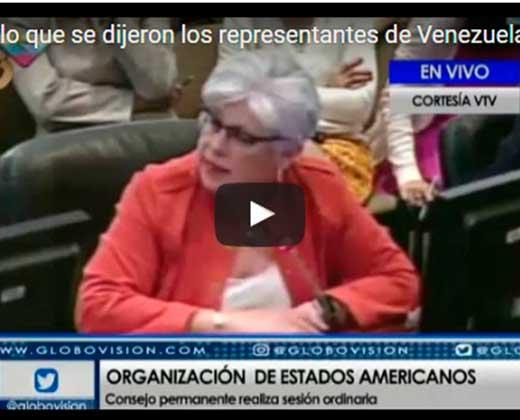 ¡NO SE LA CALÓ! Canciller de Paraguay puso en su lugar a Delcy Rodríguez en la OEA (+Video)