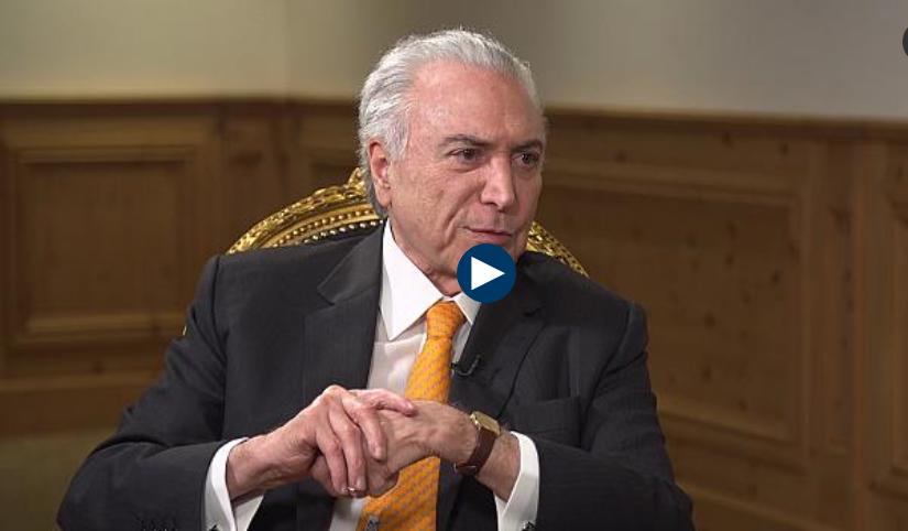 Entrevista com Michel Temer - Porque o Brasil e tão corrupto