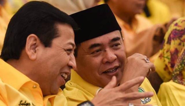 Akom Mengalah, Setya Novanto Jadi Ketua Umum Golkar Periode 2014 - 2019
