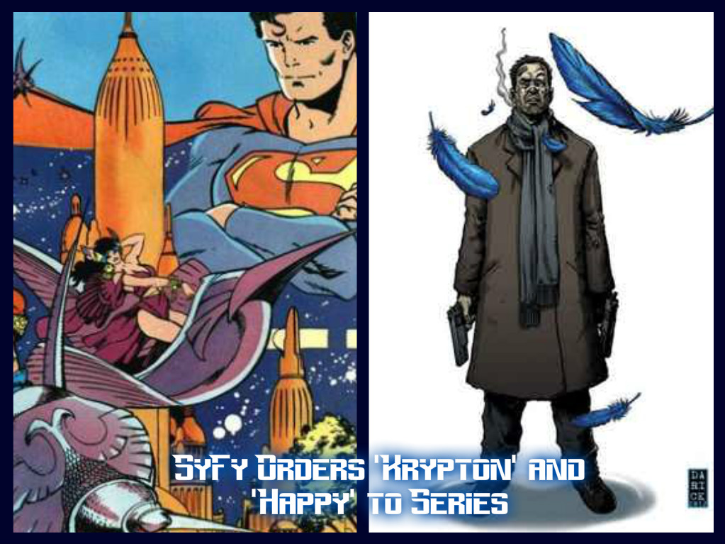 SyFy Orders Comic Book Shows, 'Krypton' and 'Happy!' to Series on