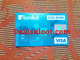 Slonkit virtual physical card Proof